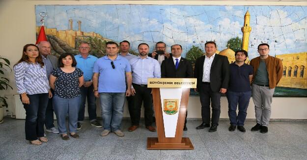 UETD Üyeleri Şanlıurfa'ya Geldi