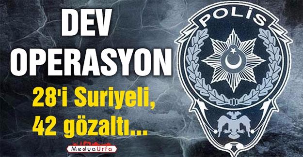 Urfa Polisi Suçlulara Göz Açtırmıyor