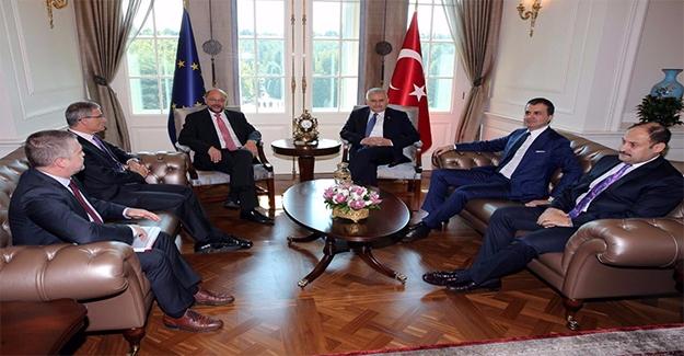 Başbakan Yıldırım; Gülpınar, Çelik ve Schulz'i Kabül Etti