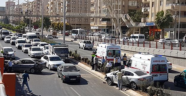 Abide Tünelinde Trafik Kazası: 1 Yaralı
