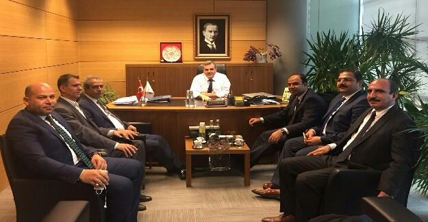 Beyazgül'ün Ankara'daki Yoğun Urfa Mesaisi