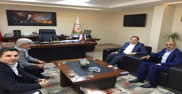 Cumhurbaşkanı Danışmanı, Açar'ı Ziyaret Etti