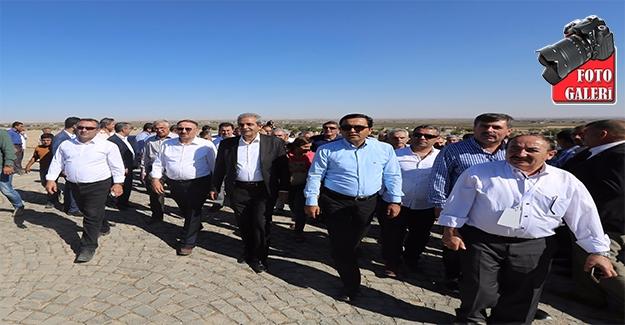 Demirkol Başkanlara Urfa'yı Tanıttı
