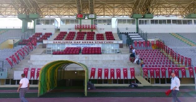 GAP Arena Kırmızı Beyaza Bürünecek