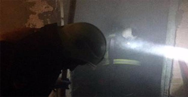 Kurtuluş Mahallesinde Yangın Çıktı