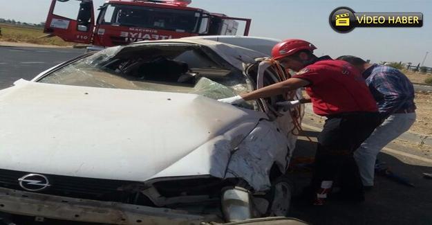 Mardin Yolunda Trafik Kazası: 1 Ölü 2 Yaralı