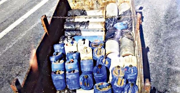 Patlayıcı Yüklü 15 Kamyon Saldırısı Önlendi