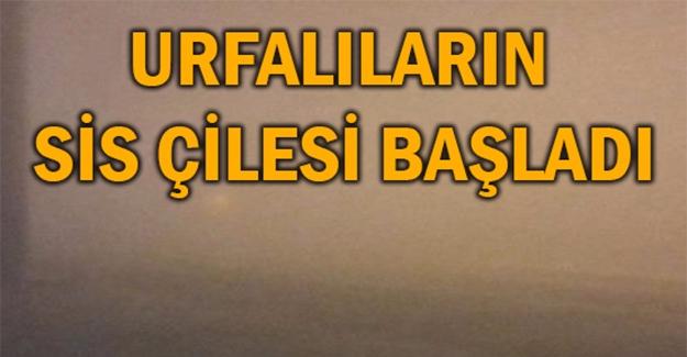Şanlıurfa-Ankara Uçağına Sis Rötarı