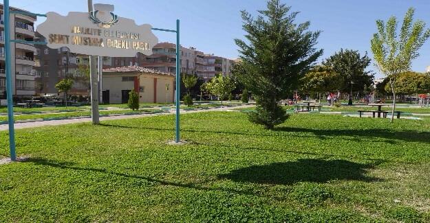 Şehidin Parkına Spor Aletleri Takıldı