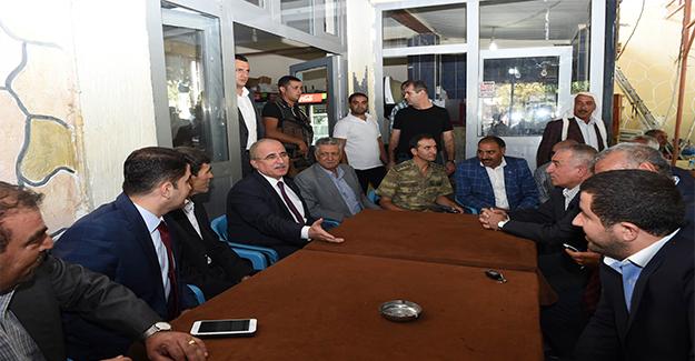 Vali Tuna Viranşehir Halkıyla Buluştu