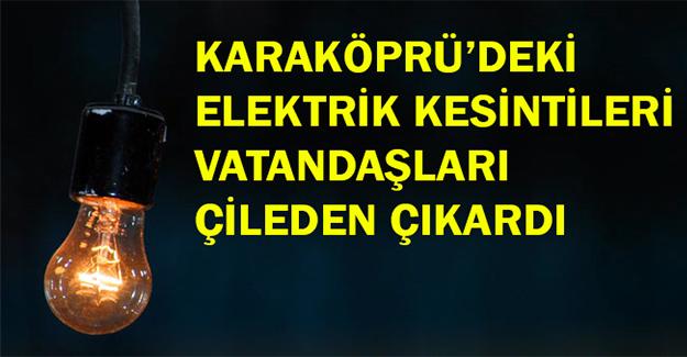 Vatandaşlardan Elektrik Kesintilerine Tepki