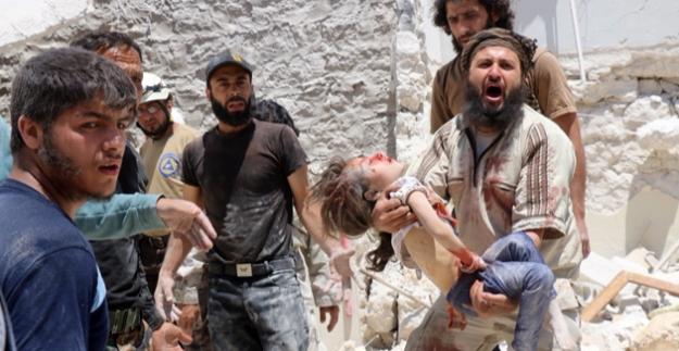 Halep'te Katliam: 322 Ölü