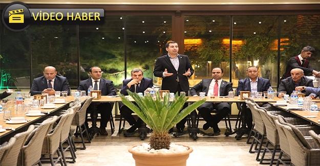 AK Parti Karaköprü'de Buluştu