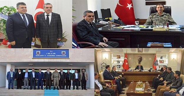AK Parti'den Tipioğlu ve Timuroğlu'na Ziyaret