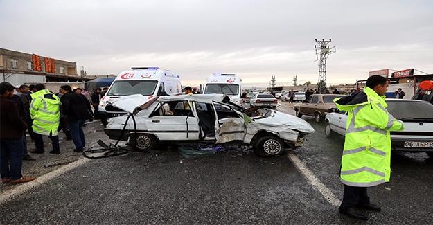 Akçakale'de Trafik Kazası: 10 Yaralı