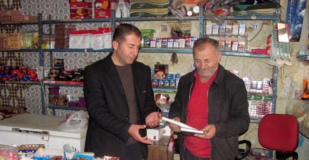 Araban ESO Başkanı Karakuş, esnafları ziyaret etti
