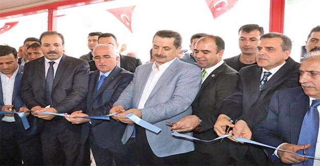Bakan Çelik Urfa'da Açılışta Yapacak