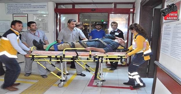 Birecik'te Zincirleme Kaza: 15 Yaralı