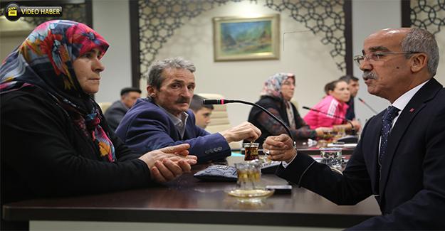 Çanakkaleli Şehit Aileleri Urfa'da