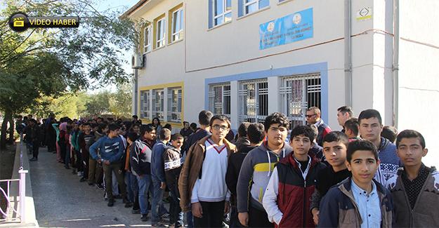 Ekinci Sınav Öncesi Öğrencileri Sevindirdi