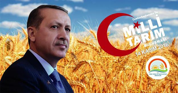 Erdoğan Çiftçilerle Buluşacak