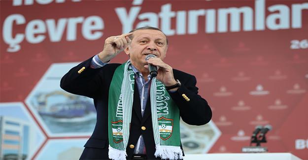 Erdoğan: Türkiye Ateş Çemberinin İçinden Geçiyor
