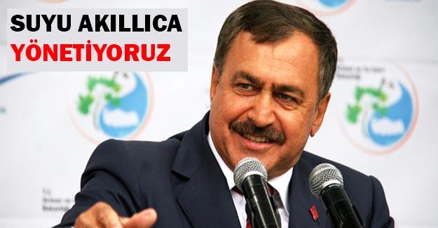Eroğlu: Su Sıkıntısı Yok