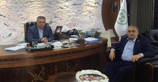 Fakıbaba Genel Müdür Acu ile Görüştü
