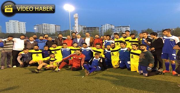 Karaköprü'de Kardeşlik Maçı Oynandı