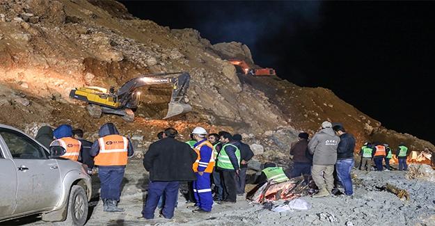 Maden Ocağında Çalışmalar Sürüyor