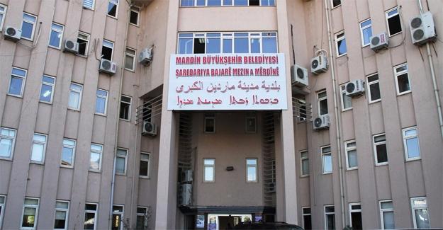 Mardin Belediyesi'ne Kayyum Atandı