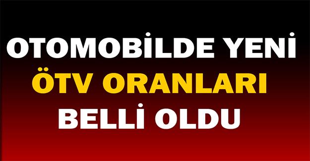 ÖTV Oranları Resmi Gazete'de Yayınlandı