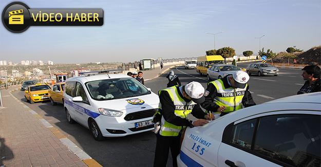 Polis ve Zabıta Taksileri Denetledi