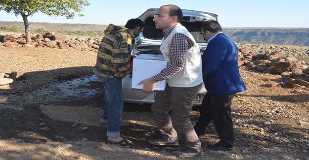 Siverek'te Suriyeli Aileye Yardım