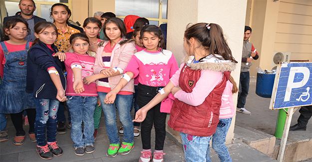 Siverek'te 27 Öğrenci Hastaneye Kaldırıldı