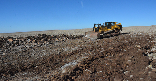 Siverek'te 37 Hayvan Sulama Göleti Yapıldı
