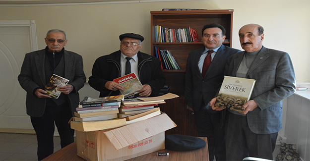 Siverek'te Kitap Toplama Kampanyası