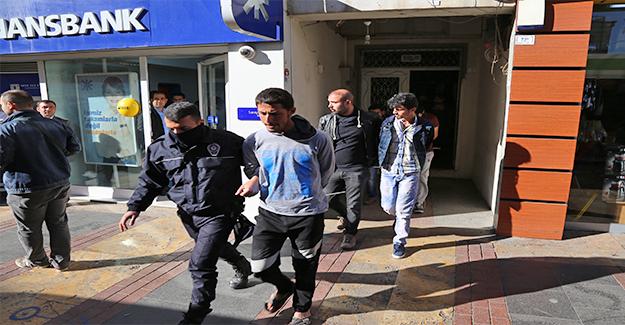 Suriyelilerin Kaldığı Adreslere Operasyon