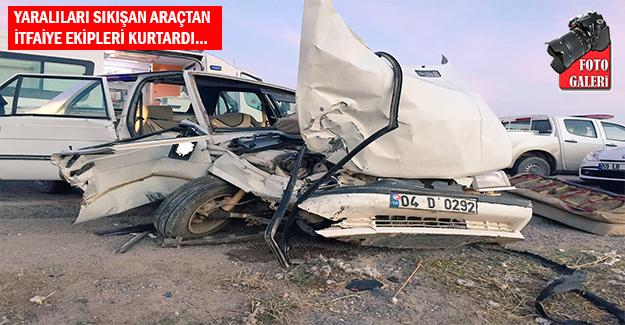 Suruç'ta Trafik Kazası: 6 Yaralı