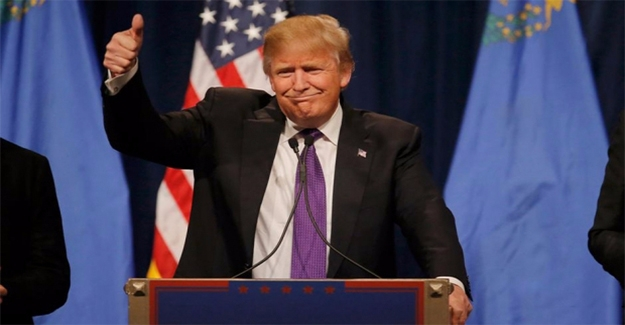 Trump Zaferini İlan Etti