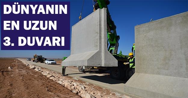 """""""Türk Seddi""""nin İnşası Sürüyor"""