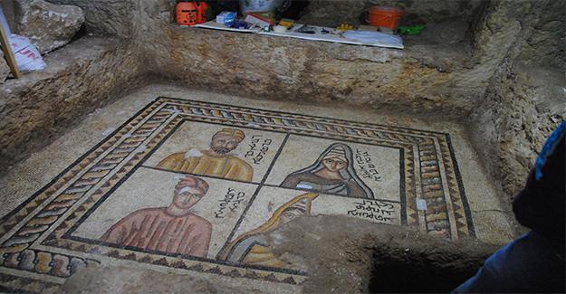 Urfa'da Ortaya Çıkan Mozaikler Büyülüyor