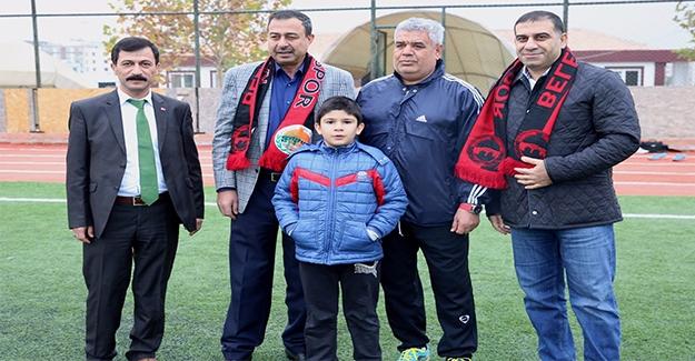 Urfasporlu Eski Yöneticiler Karaköprü'yü Ziyaret Ettiler