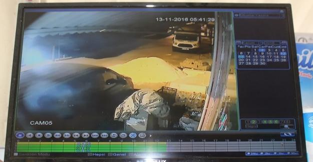 Yavuzeli'nde iş yerinden hırsızlık