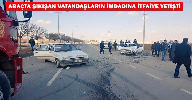 Akçakale'de Trafik Kazası: 4 Yaralı
