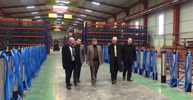 Demirkol OSB'de Fabrikaları Ziyaret Etti