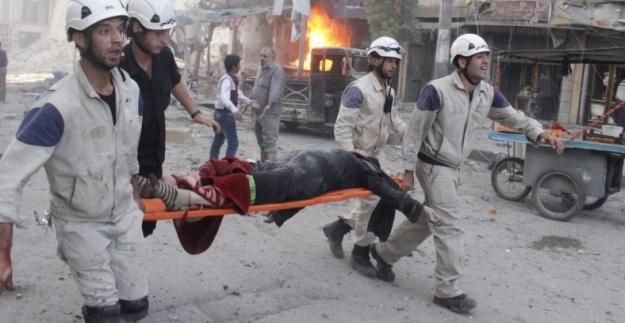 Halep'te 6 Kilometrekarede Can Pazarı