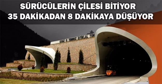 Ilgaz'ı Dize Getiren Tünel Açılıyor