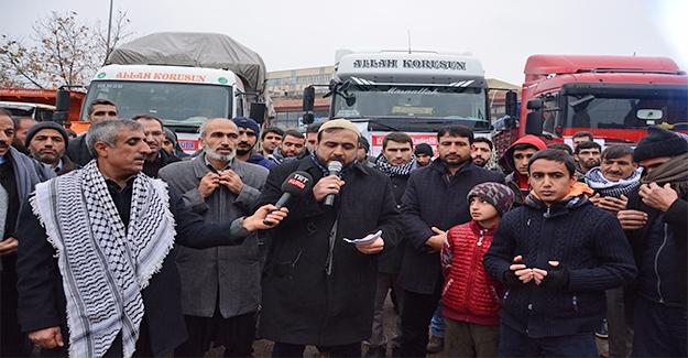 Siverek'te ''Kış Üşütür, Kardeşlik Isıtır'' Kampanyası