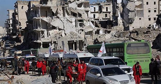 Suriye'deki Tahliyelerde Sona Yaklaşılıyor